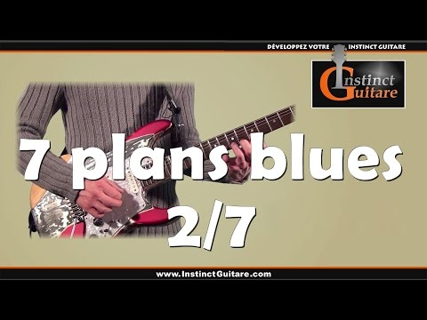 7 plans blues à la guitare - 2/7