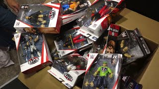 Unboxing 20 Pounds of WWE Figure