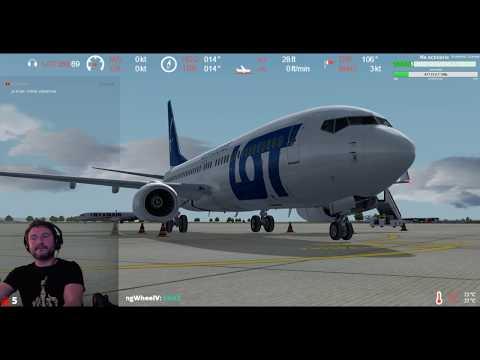 [P3Dv4ᴴᴰ] Ibiza Airport (LEIB) ⇒ Lublin Airport (EPLB) VATSIM