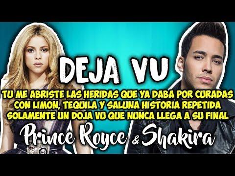 Prince Royce, Shakira  Deja vu Letra