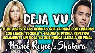 Prince Royce Shakira Deja Vu Letra