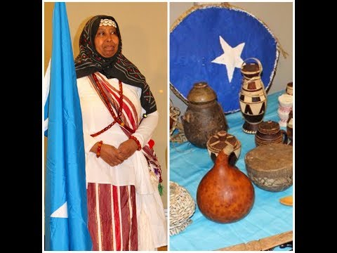 A historic event Seattle, Washington  hawa art collection showcase somali cultural night.