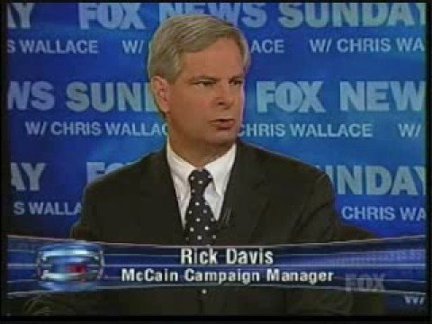 Image result for photo of rick davis mccains campaign manager