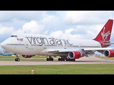 Belfast Aldergrove (EGAA) to Orlando International (KMCO) Virgin Atlantic B747-8i