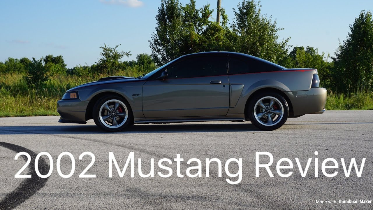 Mustang Review 2002 Gt 2v All Show No Go