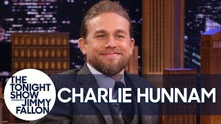 Charlie Hunnam Got a Master Class in Acting from Hugh Grant in The Gentlemen