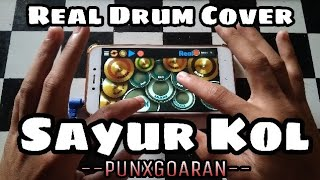 Gambar cover Lagu Batak Viral..!  Makan Daging Anjing Dengan Sayur Kol (PUNXGOARAN -  SAYUR KOL) Real Drum Cover