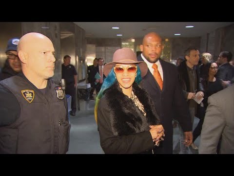 Cardi B Finds Out About Grammy Nominations Outside Court Mp3