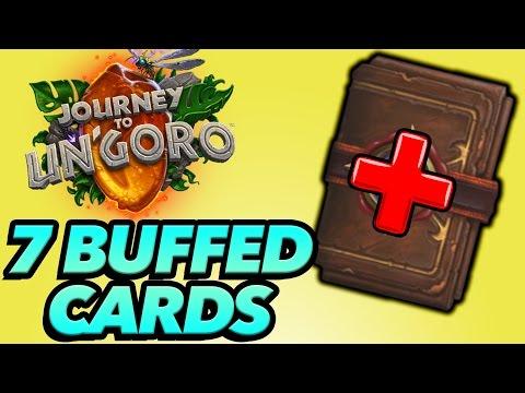 Hearthstone - 7 Cards That Got BUFFED With Un'Goro