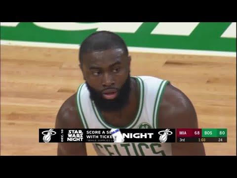 Jaylen Brown Full Play Vs Miami Heat | 12/04/19 | Smart Highlights