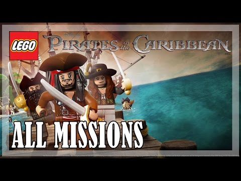 LEGO Pirates of the Caribbean - All Missions