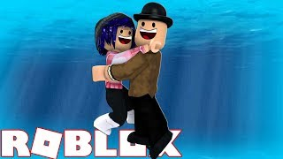 CHELSEA AND CALLUM GET TRAPPED UNDERWATER! Roblox Escape the Flood minigame!