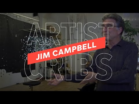 Artist Cribs: Jim Campbell's Illuminated Studio