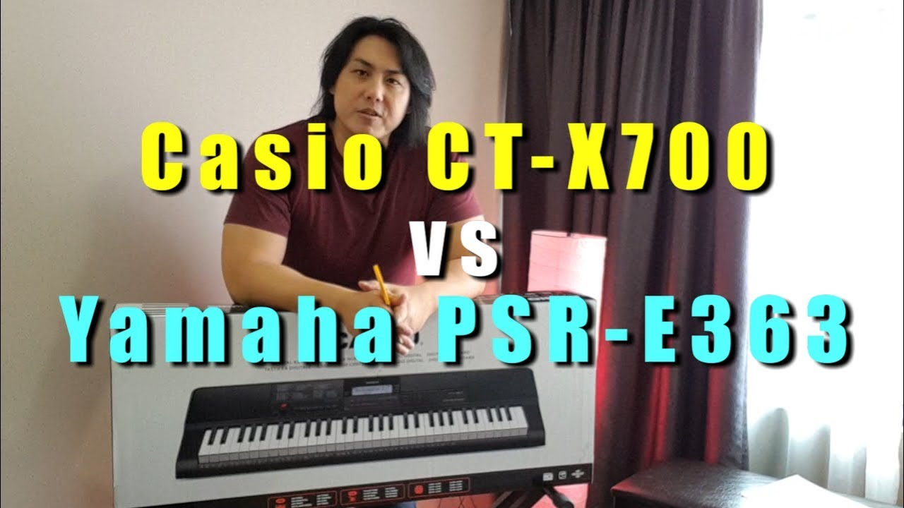 Yamaha Psr E363 Vs Casio Ct X700 Functions Features Demo Review