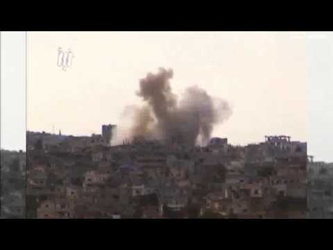 Air strikes hit Syrian city of Deraa