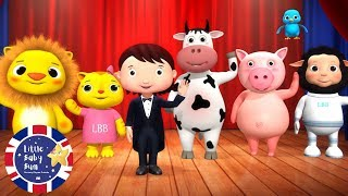 Learn Animals | Learn English for Kids | Songs for Kids | Nursery Rhymes | Little Baby Bum