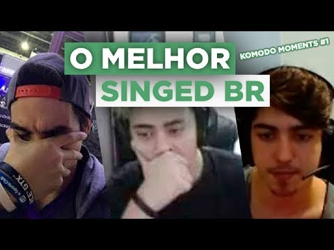 THE BEST SINGED BR! KOMODO MOMENTS #1 ‹ Dragão ›