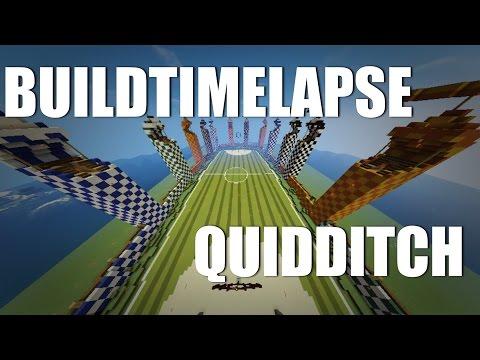 Minecraft : BUILDTIMELAPSE #3 : QUIDDITCH