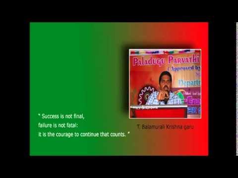 ASHA Curtain Raiser AV | Paladugu Parvathi Devi Engineering College