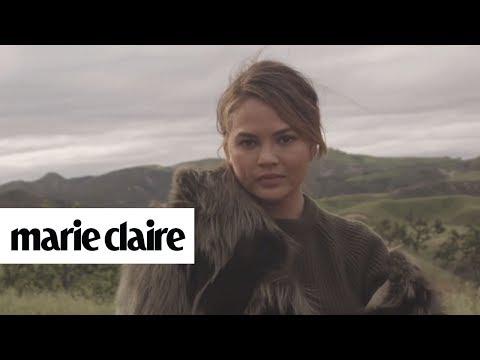 Chrissy Teigen | Cover Shoot | Marie Claire