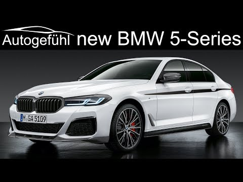 New BMW 5-Series Facelift 2021 Update Exterior Interior Changes - M550i And M Performance Parts 2020