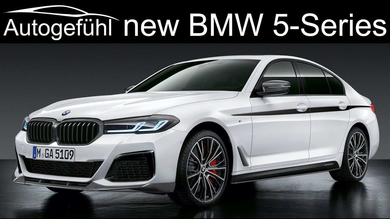 New Bmw 5 Series Facelift 2021 Update Exterior Interior Changes M550i And M Performance Parts 2020 Youtube