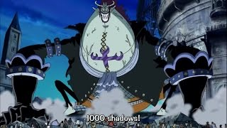 1000 Shadow Moriah Vs Luffy - One Piece Episode 374 Eng Sub
