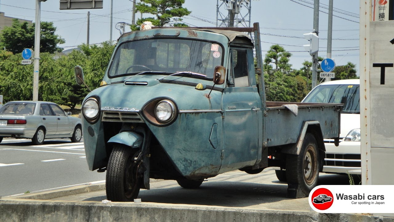 Spotted A Three Wheel Truck The Mazda T2000 1962 Youtube