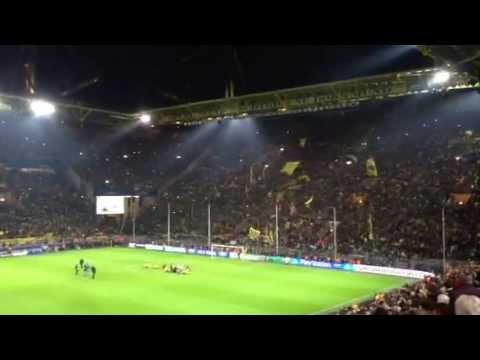 Faltin Travel beim unglaublichen Viertelfinal-Spiel zwischen Borussia Dortmund vs. FC Malaga
