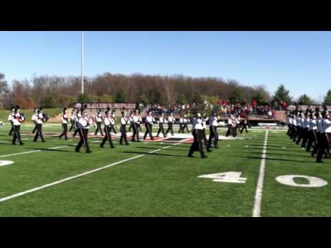 Ohio Northern University Marching Band 11/14/2015
