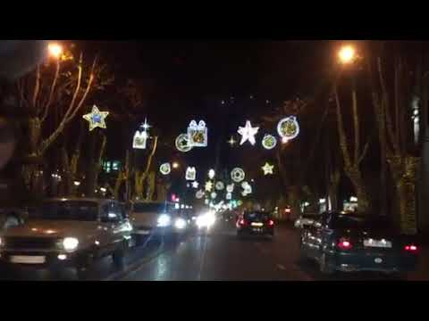 По новогоднему Тбилиси