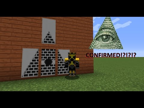 How to make Illuminati Banners! [Minecraft tutorial]