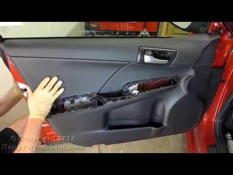 Toyota camry how to remove door panel to install spea - 2000 toyota solara interior door handle ...