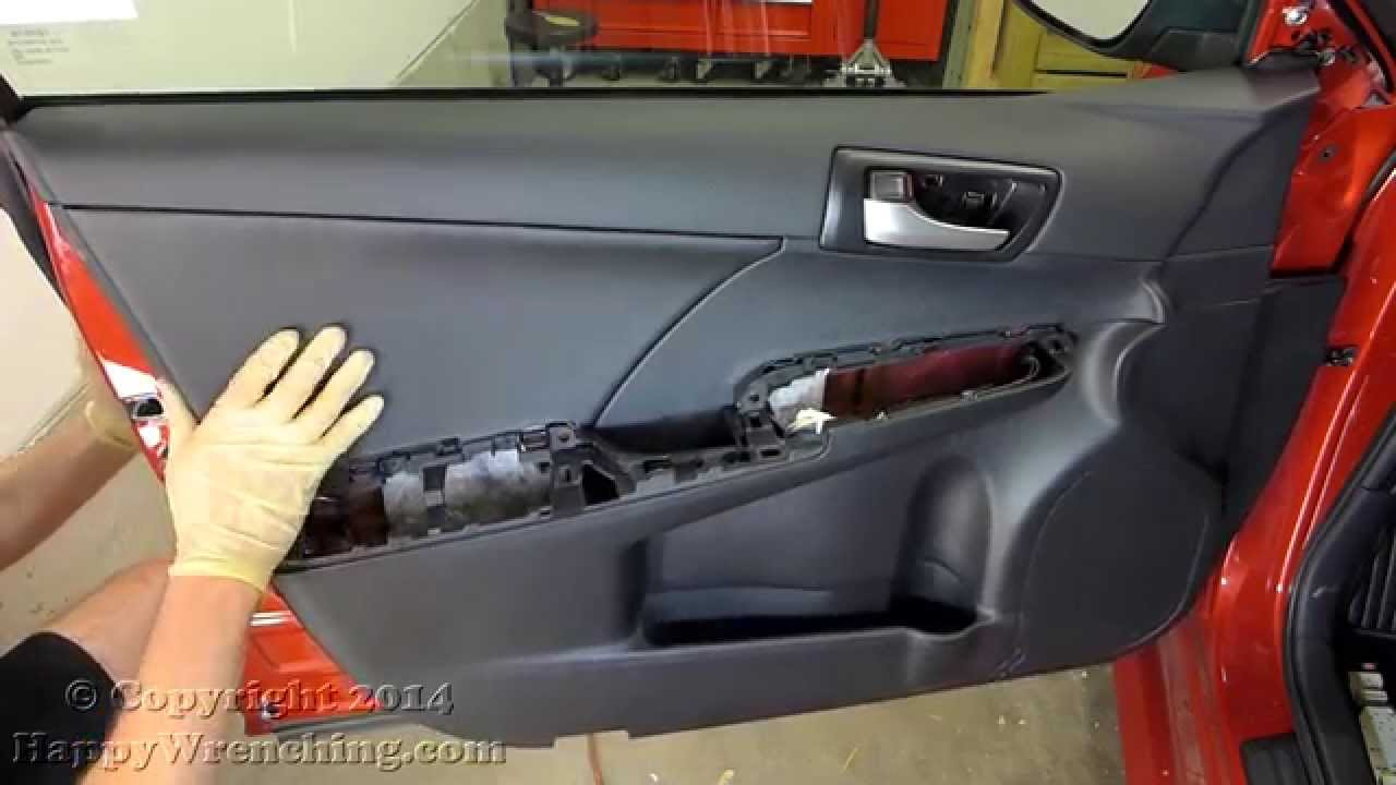 Toyota camry door panel speaker removal 2012 2014 youtube sciox Choice Image