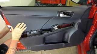 Toyota Camry Door Panel & Speaker Removal (2012 - 2014)