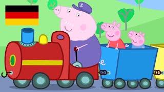 Peppa Pig Deutsch 🇩🇪 | Opa's Kleine Trein  - Zusammenschnitt (3 Folgen) | Peppa Wutz #PPDE2018