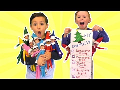 Our Elf on the Shelf is Back - Our Elves are Here Checklist
