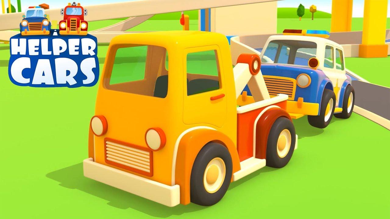 Youtube cartoni animati cars nuovo helper cars camion e for Blaze e le mega macchine youtube