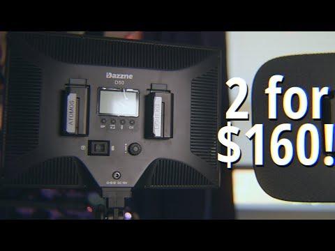 Elgato Key Light KILLER? - Dazzne D50 Bi-Color Video Light Review
