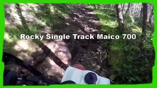 Dirtbike Rocky Single Track: Maico 700