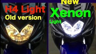 XENON Licht für Yamaha Aerox scooter