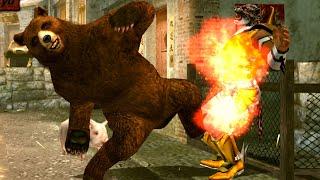 [TAS] Tekken 6 - Kuma (PSP)