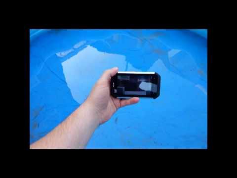 CAT B15 Rugged Smartphone waterproof test