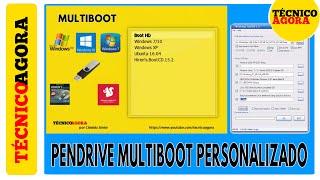 Pendrive Multiboot Personalizado com WinSetupFromUSB. PARTE 1