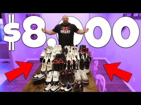 $8,000 SHOE COLLECTION