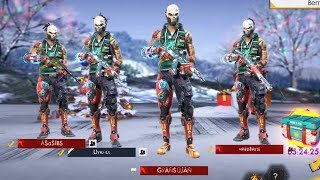 Hindi Garena Free Fire Live India Ranked Match Squad