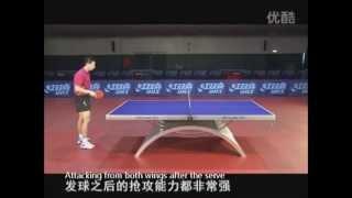Ma Long - техника настольного тенниса. Фильм 55 мин.