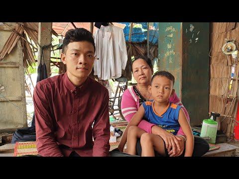 95 Triệu đồng đến Với 3 Anh Em Sống Trong Căn Nhà Lá ở Cai Lậy