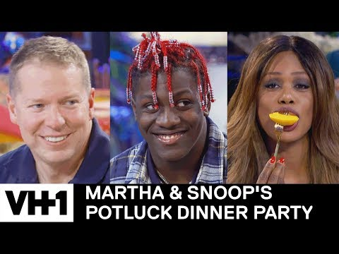 Candid Q&A w Lil Yachty, Laverne Cox & Gary Owen  Martha & Snoop's Potluck Dinner Party