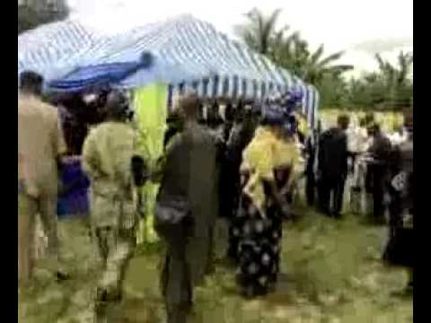 Burial of Rev J J G Nedom, A HERO OF FAITH IN NIGERIA